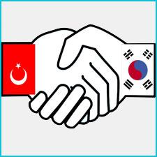 Türkiye ile Güney Kore El Sıkışma Görseli