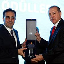 Recep Tayyip Erdoğan ve Fikri Işık'ın Fotoğrafı