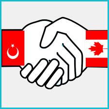 Kanada ile Türkiye İş Birliği Görseli