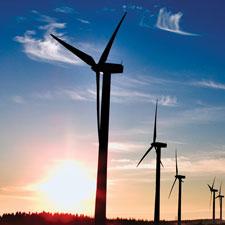 Rüzgar Türbini Görseli