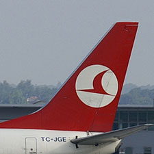 Image of Turkish Airlines Plane