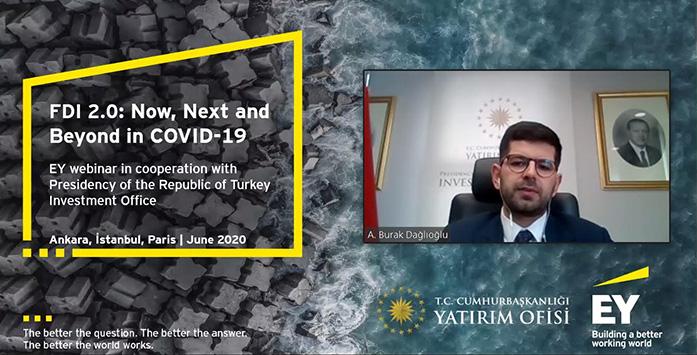 Yatırım Ofisi'nin EY Türkiye ile Düzenlediği Web Semineri ile İlgili Görsel