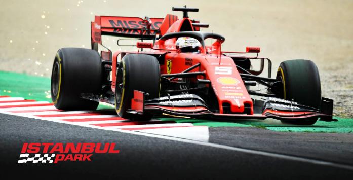 İstanbul Park Türkiye Grand Prix'i Formula 1 Araç Görseli
