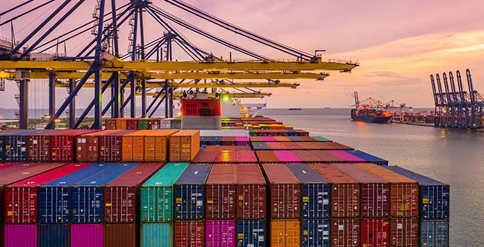 Image of Ship Containers