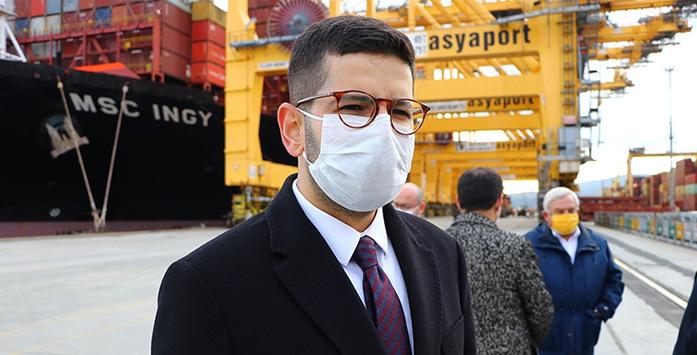 Yatırım Ofisi Başkanı'nın Asyaport'u Ziyaretinden Görsel