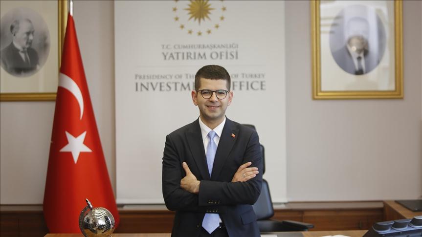 Image of Investment Office President Burak Dağlıoğlu