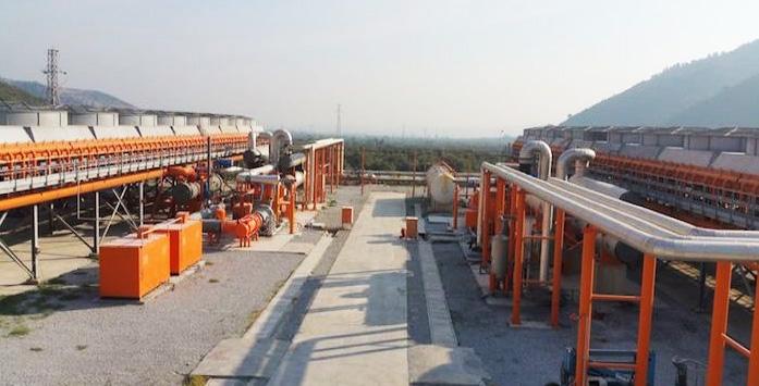 Jeotermal Enerji Santrali Görseli