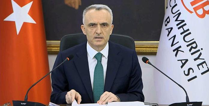 Türkiye Cumhuriyeti Merkez Bankası (TCMB) Başkanı Naci Ağbal Açıklama Görseli