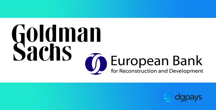 Goldman Sachs and European Bank Logos