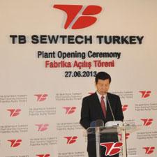 Image for Toyota Boshoku Head of Turkey Kenji Hirota