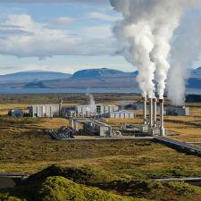 Geothermal Power Plant Image