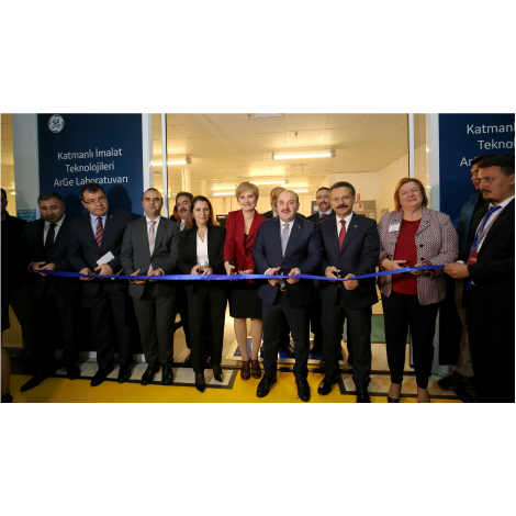 General Electric Aviation, Additive Manufacturing Technologies R&D Laboratory Opening at TUBITAK