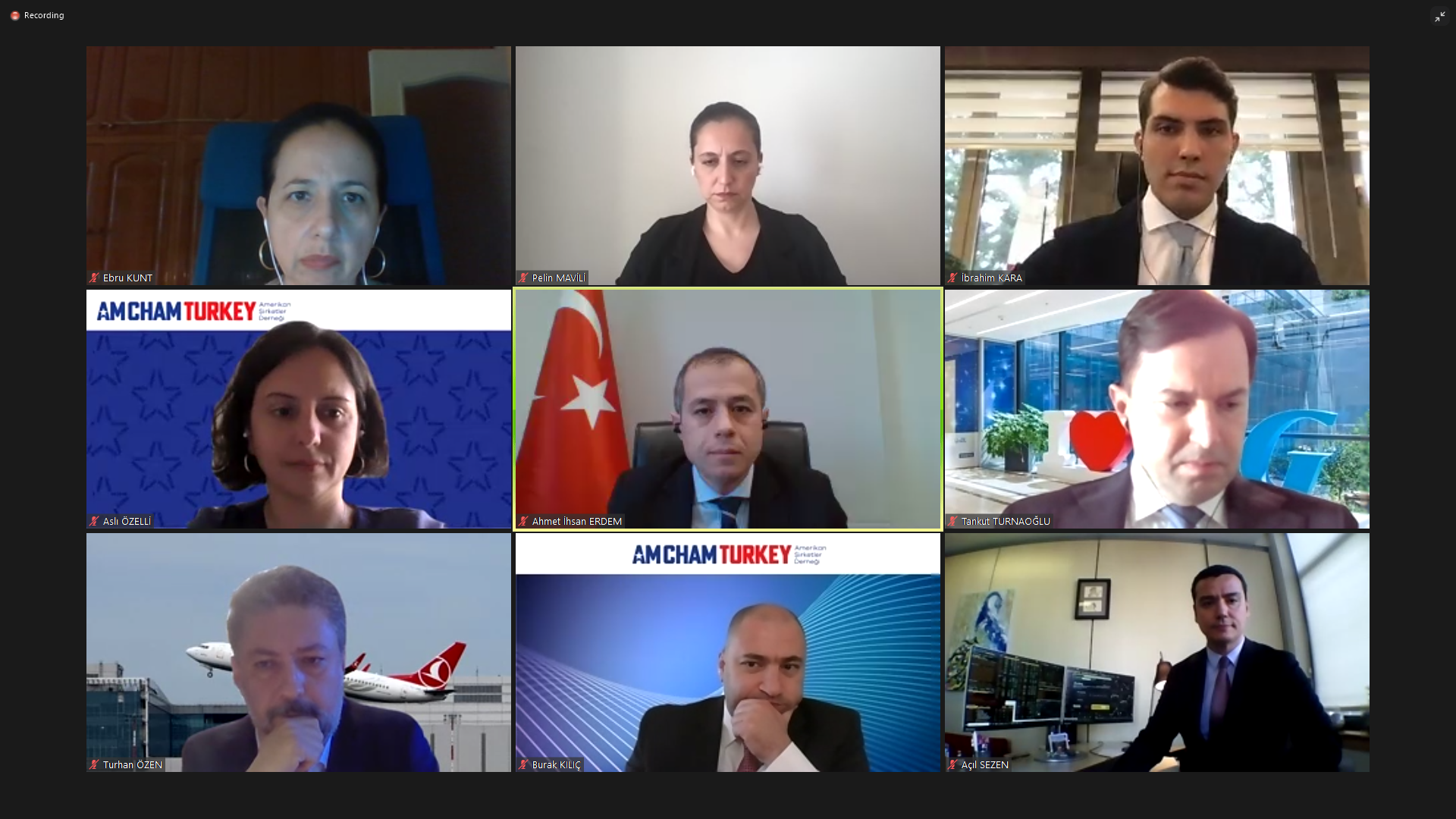 Image from Investment Office's Second GVC Meeting with AmCham Turkey