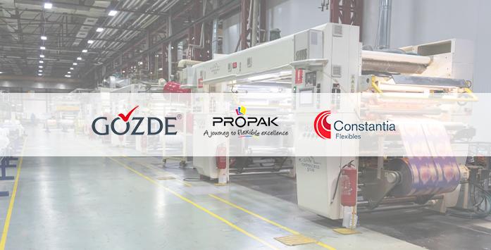 Gözde, Propak and Constantia Company Logos