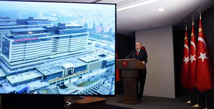 Recep Tayyip Erdoğan Başakşehir Şehir Hastanesi Açılış Töreni