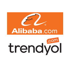 Alibaba and Trendyol Logos