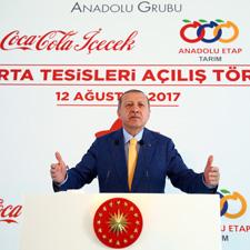 Recep Tayyip Erdoğan'ın Konuşma Yaparken Çekilmiş Fotoğrafı