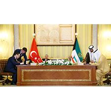 Kuvey ve Türkiye'nin İkili İlişkiler Sırasında Çekilmiş Fotoğrafı