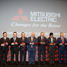 Image for inauguration of a new air-conditioner production facility