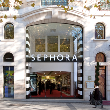 Sephora Store in a Shopping Mall