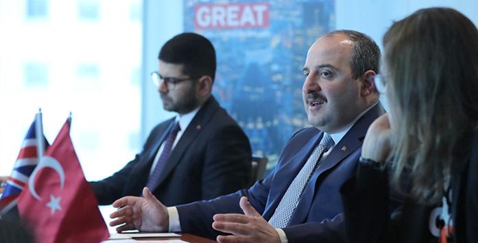 Sanayi ve Teknoloji Bakanı Mustafa Varank ve Yatırım Ofisi Başkanı Burak Dağlıoğlu'nun Görseli
