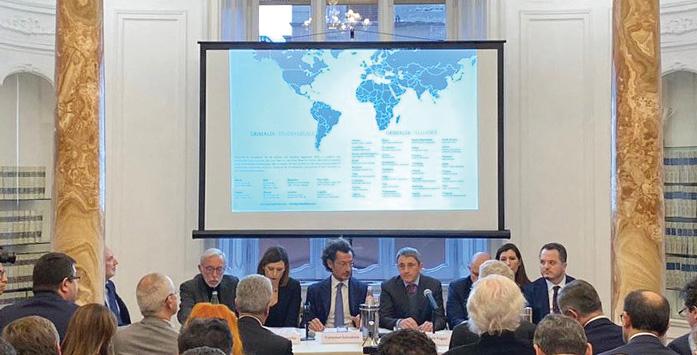 Yatırım Ofisi'nin İtalya'da Katıldığı Bir Toplantıdan Görsel